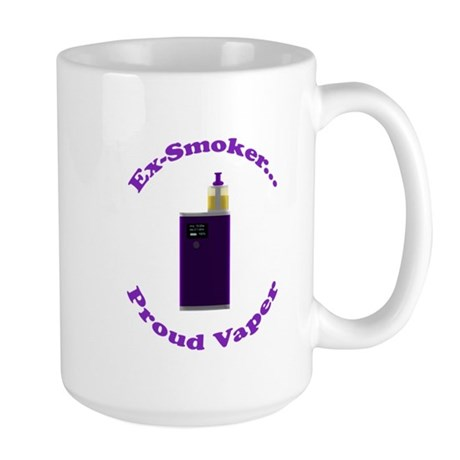 Ex-Smoker Proud Vaper Mugs