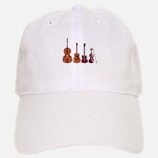 Bass Guitars and Violin Baseball Baseball Baseball Cap