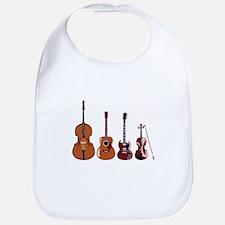 Bass Guitars and Violin Bib