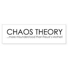 Chaos Theory ...More Misunderstood than Freuds Mot