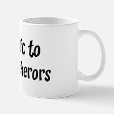 Allergic to Huevos Rancherors Mug