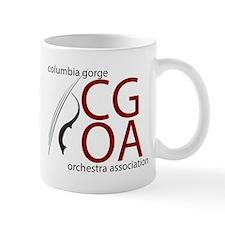 CGOA logo Mugs