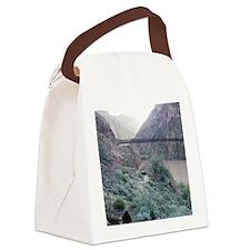 Bright Angel Mule Ride To Phantom Canvas Lunch Bag