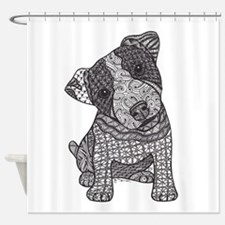 Jack Russell Pup Shower Curtain