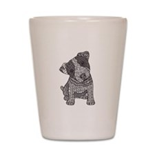 Jack Russell Pup Shot Glass