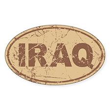 Iraq Auto Decal