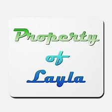 Property Of Layla Female Mousepad