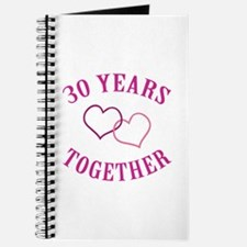 30th Anniversary Two Hearts Journal