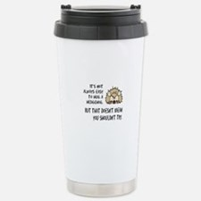 Hug a Hedgehog Travel Mug