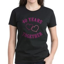 40th Anniversary Two Hearts Tee