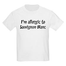 Allergic to Sauvignon Blanc T-Shirt