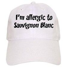 Allergic to Sauvignon Blanc Baseball Cap