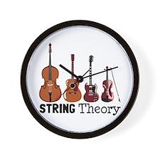 String Theory Wall Clock