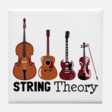 String Theory Tile Coaster