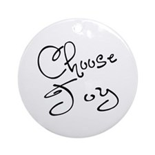Choose Joy Ornament (Round)