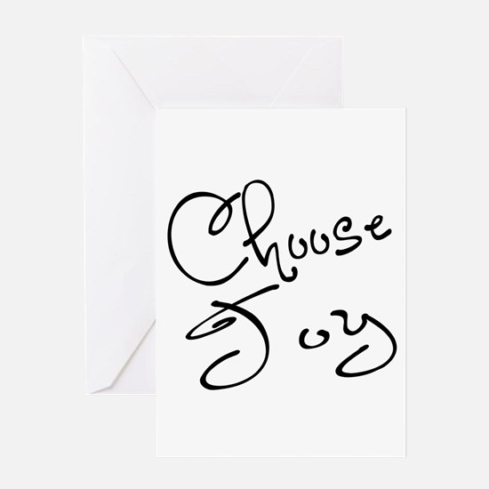 Choose Joy Greeting Card