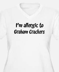 Allergic to Graham Crackers T-Shirt
