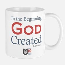 In The Beginning God Created Mugs