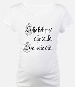 She Believed She Could Medieval Shirt