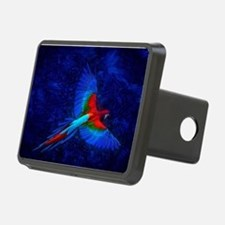 Blue Winged Macaw Hitch Cover