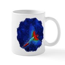 Blue Winged Macaw Mug