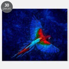 Blue Winged Macaw Puzzle