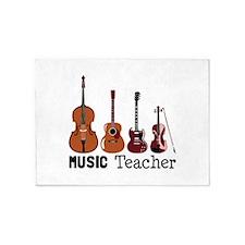 Music Teacher 5'x7'Area Rug