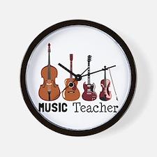 Music Teacher Wall Clock