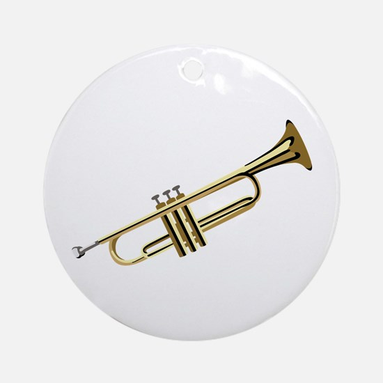 Trumpet Ornament (Round)