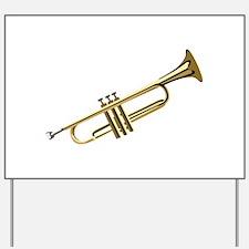 Trumpet Yard Sign