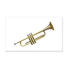 Trumpet Rectangle Car Magnet