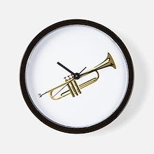Trumpet Wall Clock