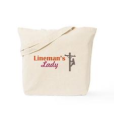 Linemans Lady Tote Bag