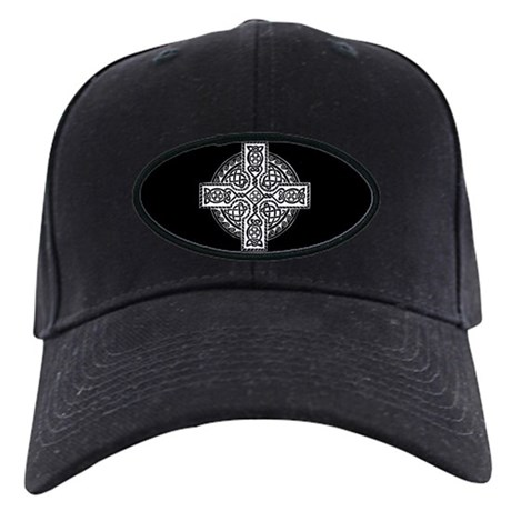 Celtic Cross Black Cap