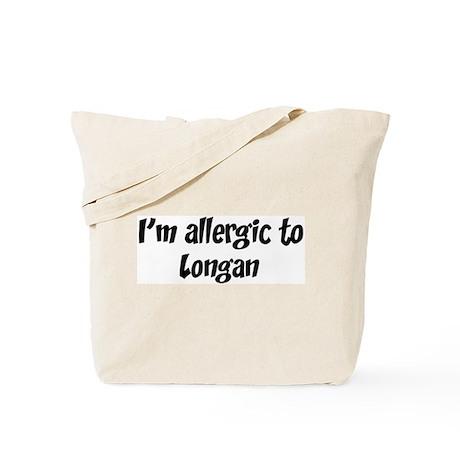 Allergic to Longan Tote Bag