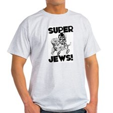 sUPERjEWS Grey Tee