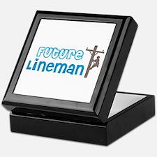 Future Lineman Keepsake Box