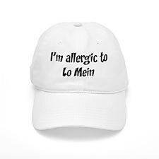 Allergic to Lo Mein Baseball Cap
