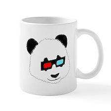 Panda Bear with 3D Glasses Mugs