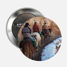 "South Kiabab Grand Canyon Mule Ride 2.25"" Button"