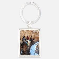 South Kiabab Grand Canyon Mule R Portrait Keychain