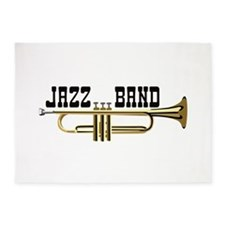 Jazz Band 5'x7'Area Rug