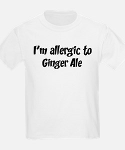 Allergic to Ginger Ale T-Shirt