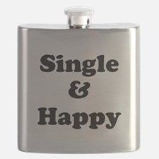 Single and Happy Flask