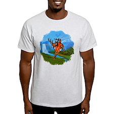 Waterfall Deer T-Shirt
