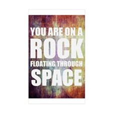 You are on a Rock Floating Decal