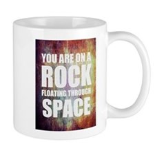 You are on a Rock Floating Mug