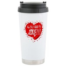 All You Need Is Love-The Beatles Travel Mug