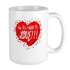 All You Need Is Love-The Beatles Mugs