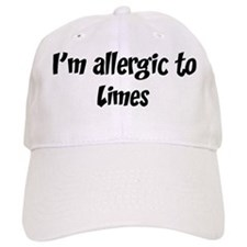 Allergic to Limes Baseball Cap